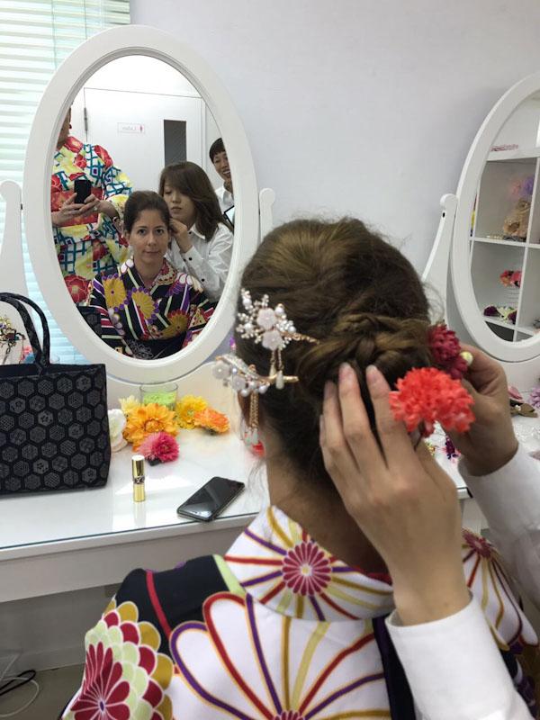 Se vestir de Gueisha em Kyoto
