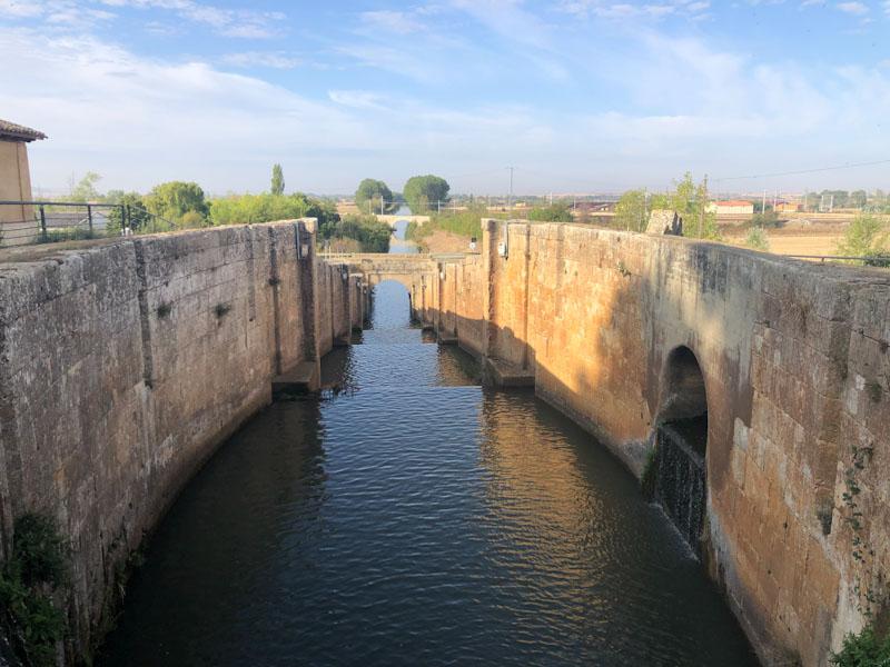 Canal de Castilla Espanha