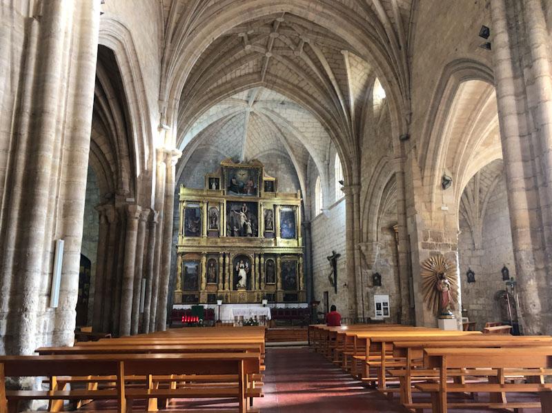 Iglesia de San Pedro Caminho de Santiago