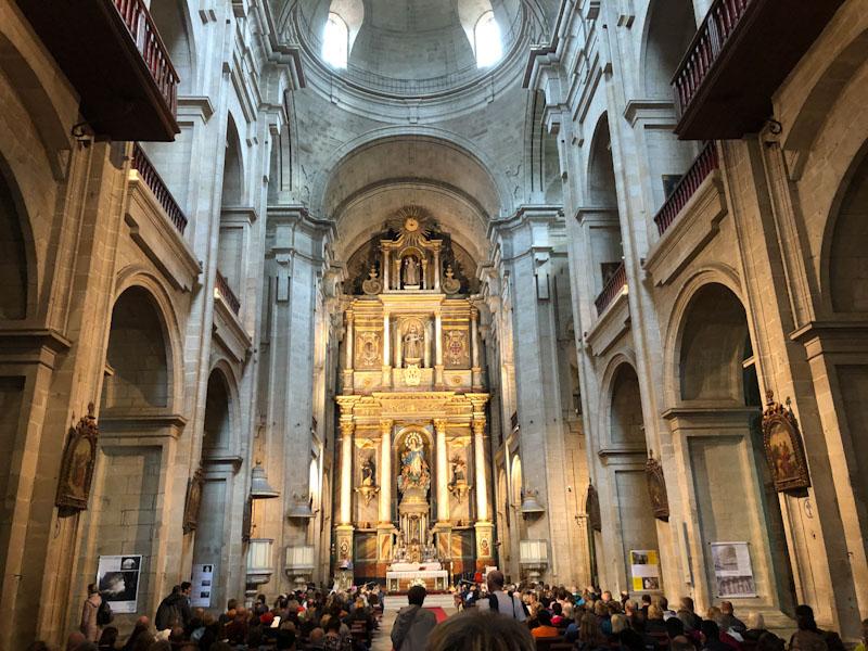 Missa peregrino Caminho de Santiago