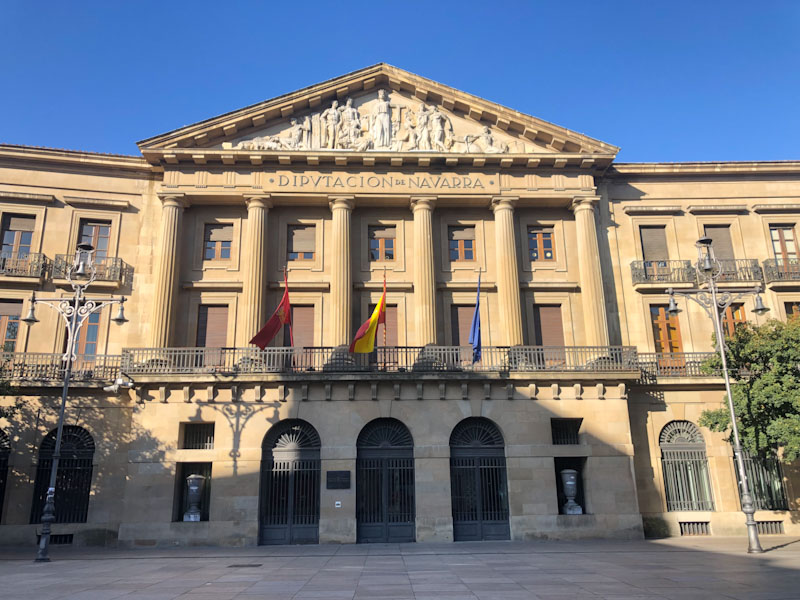 Palácio de Navarra Pamplona
