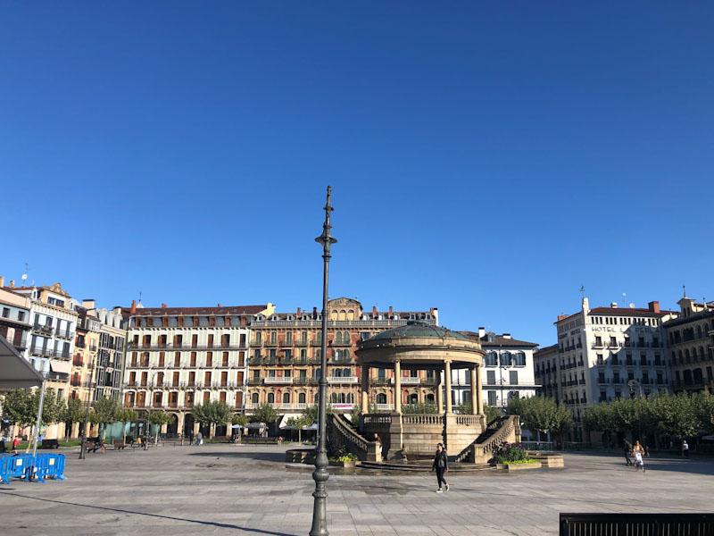 Plaza del Castillo Pamplona