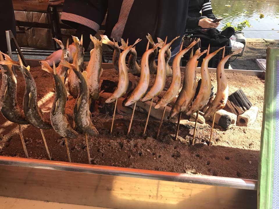 comida de rua no japão