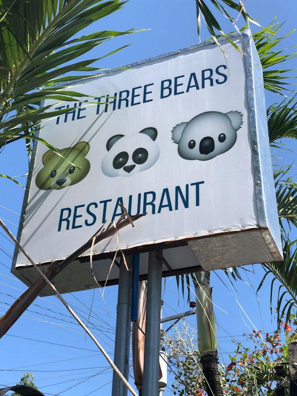 The Three Bears Restaurant Moalboalt