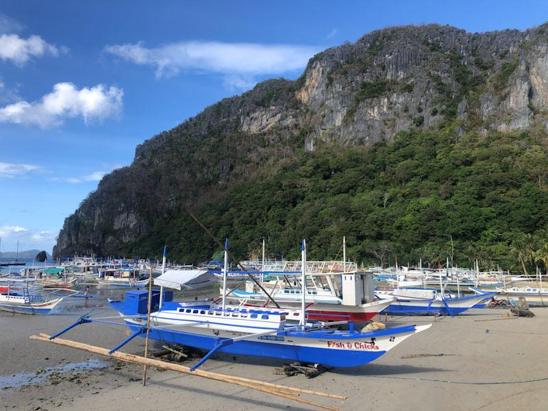 El Nido Pier Embaruqe tour privado