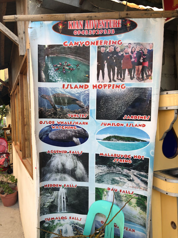 Moalboal Tours