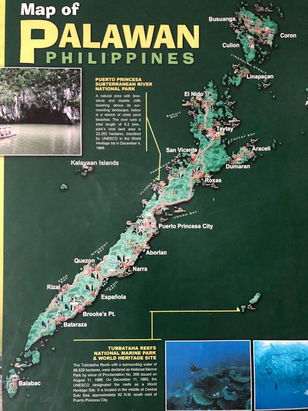 Palawan island Filipinas