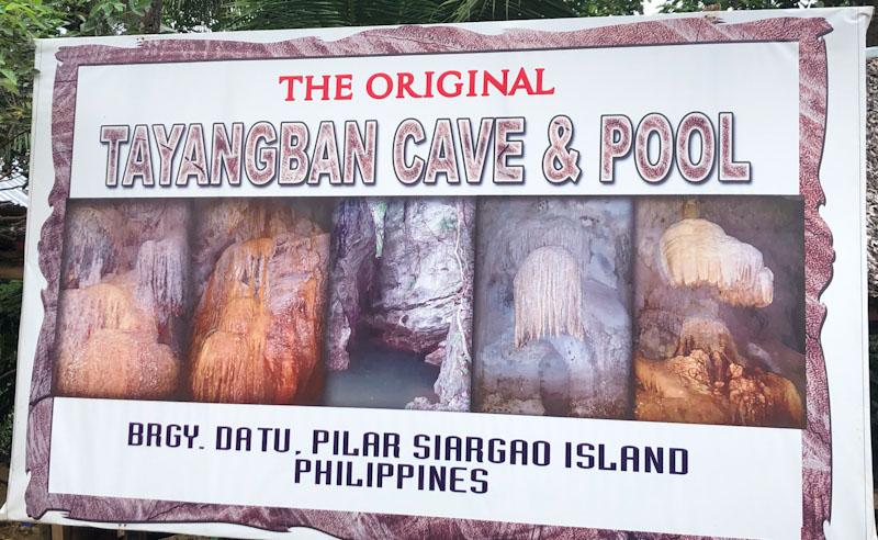 Tayangban Cave Siargao